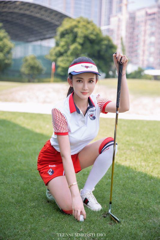 广州170D兼职气质小少妇可约陪打高尔夫-1