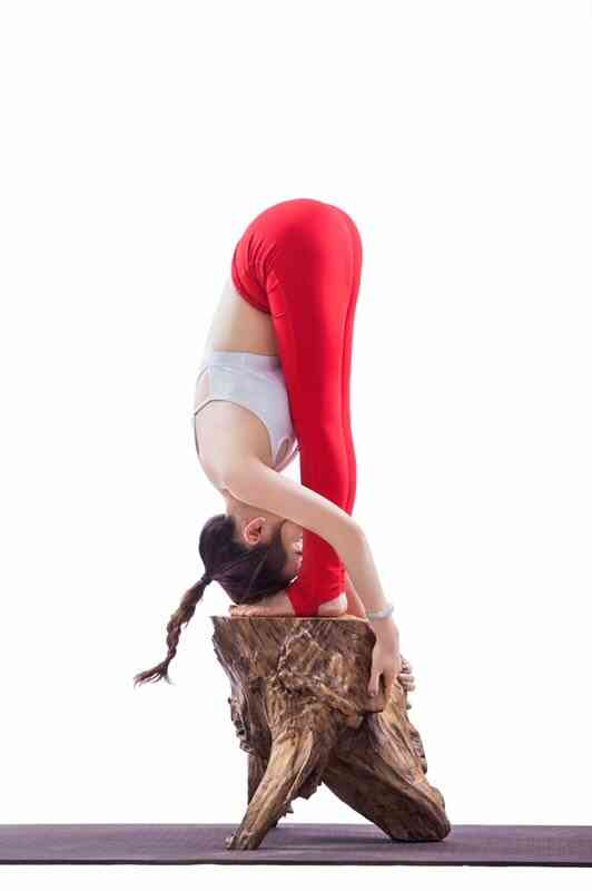 上海职业瑜伽老师165D柔软身躯