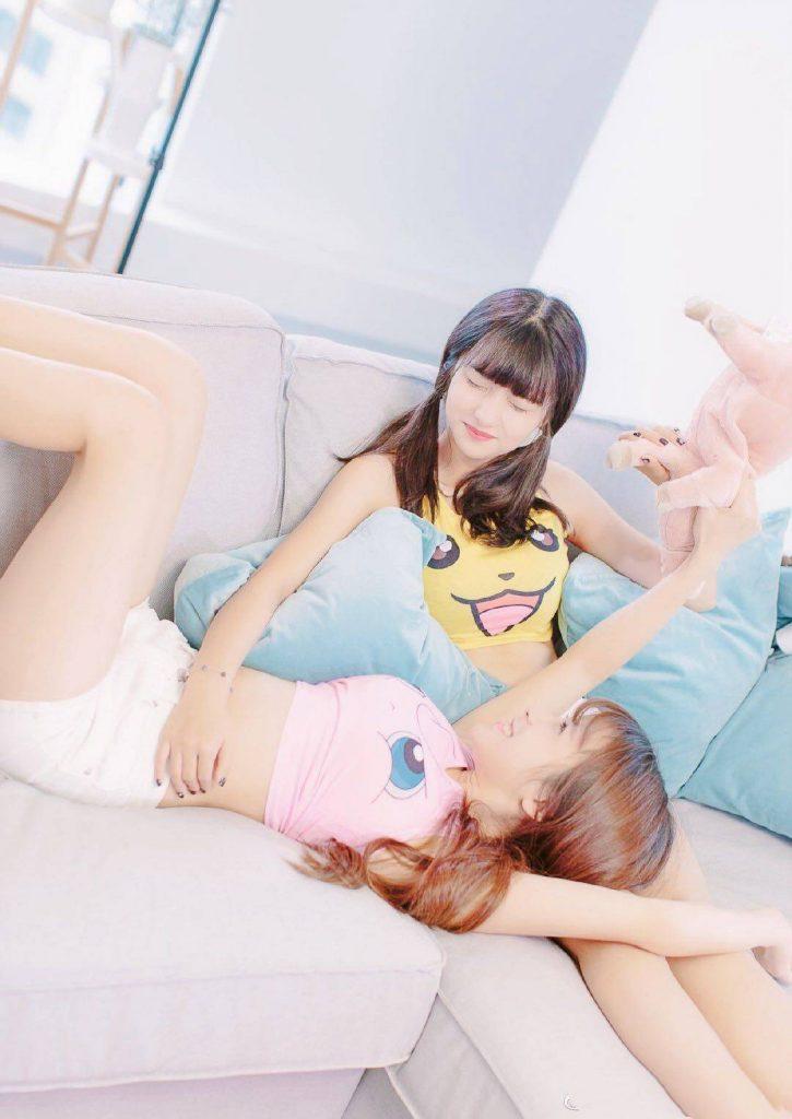 双胞胎外围模特-姐妹花外围模特