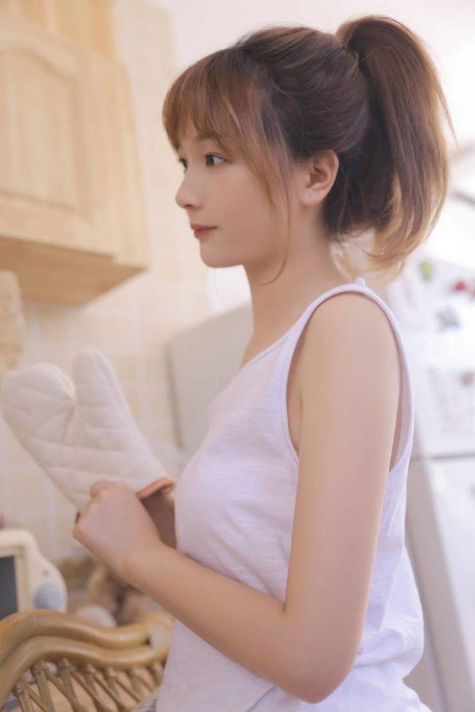 北京外围模特白小纯类型168C 00纯天然小白菜-2