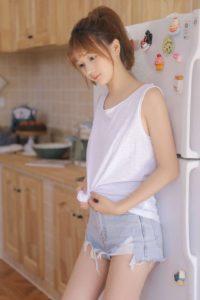 北京外围模特白小纯类型168C 00纯天然小白菜-1